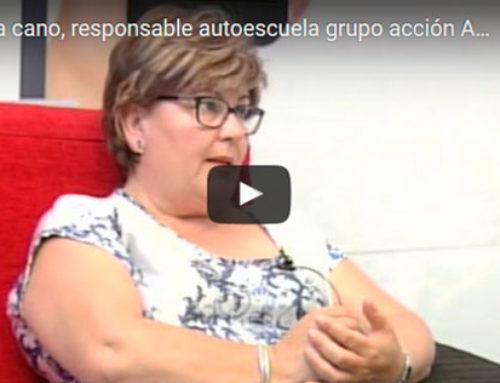 Manuela cano, responsable autoescuela grupo acción Antequera. La formación de este grupo